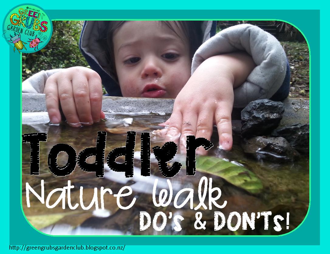 Toddler Nature Walk DO's & DON'Ts!