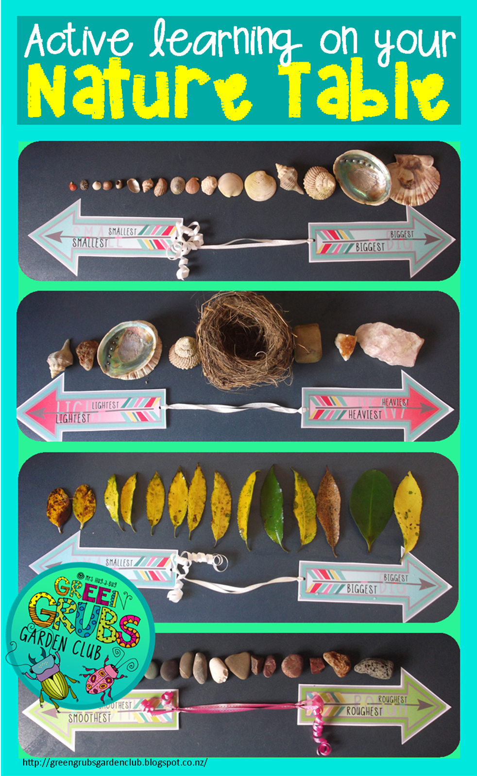 Bringing active learning to your Nature Table {PART 1}