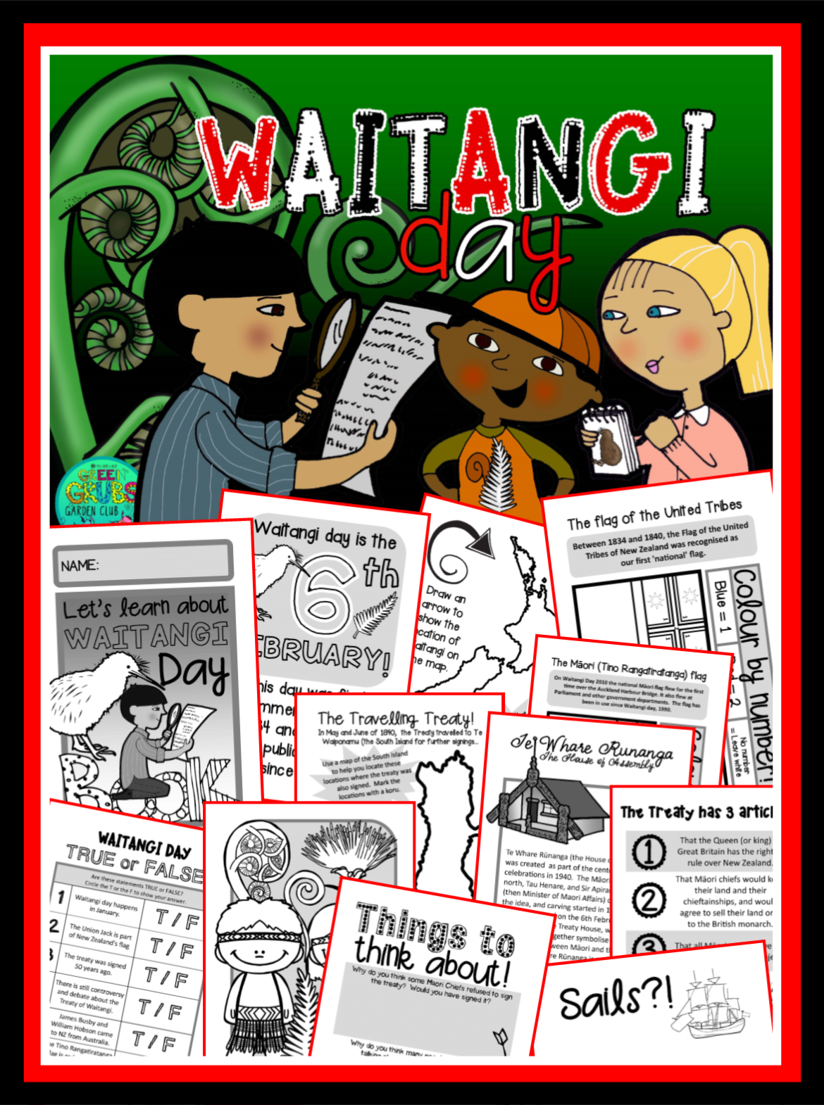 Waitangi Day….Do you love or loathe teaching about it?