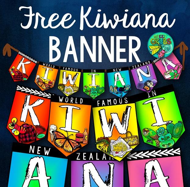 Kiwiana Banner {Free Printable!}