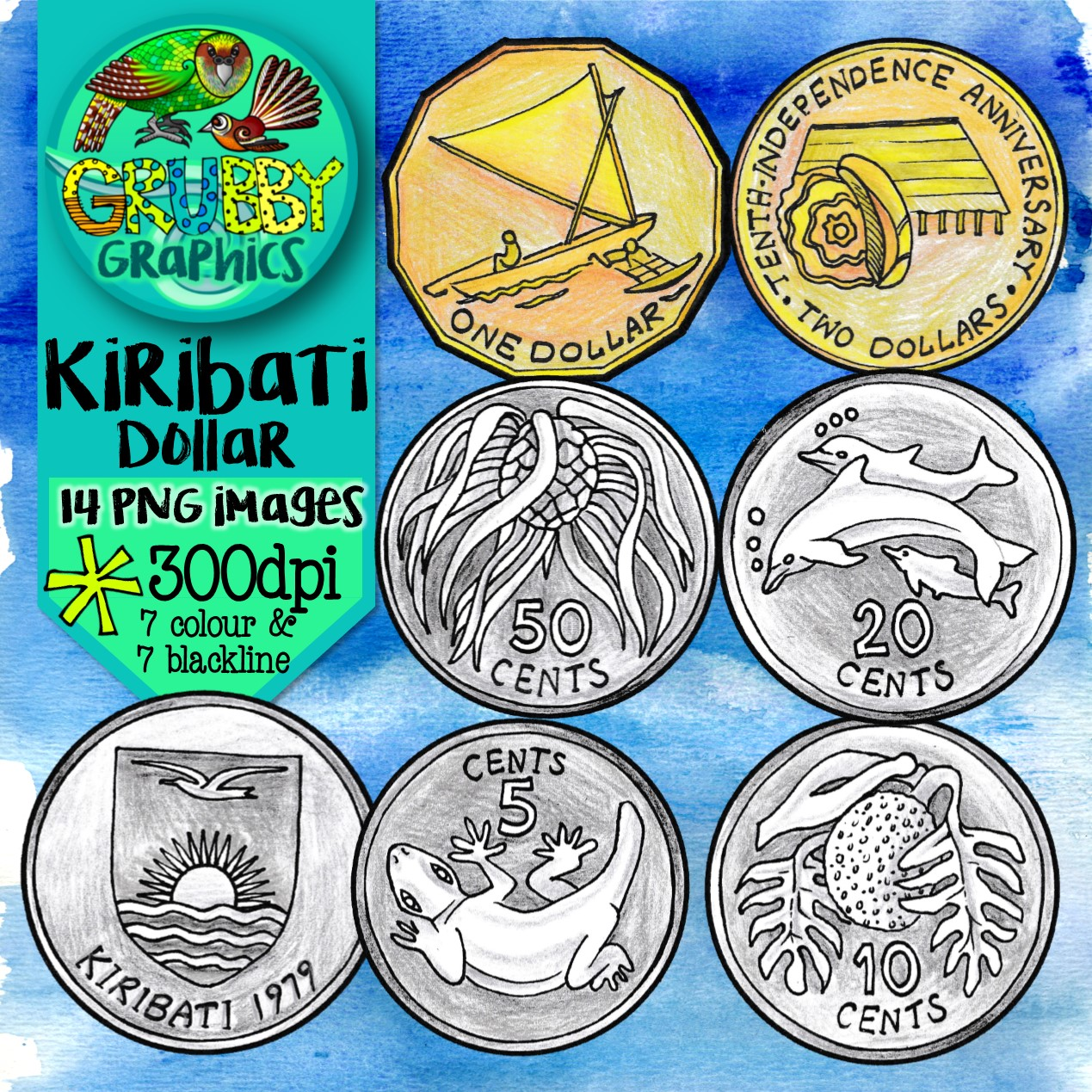 Pacific Currency Images