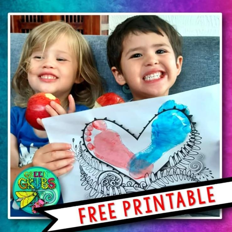 Valentines Day – FREE printable!