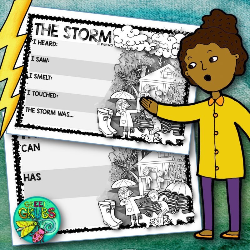 The Storm – FREE Writing Templates