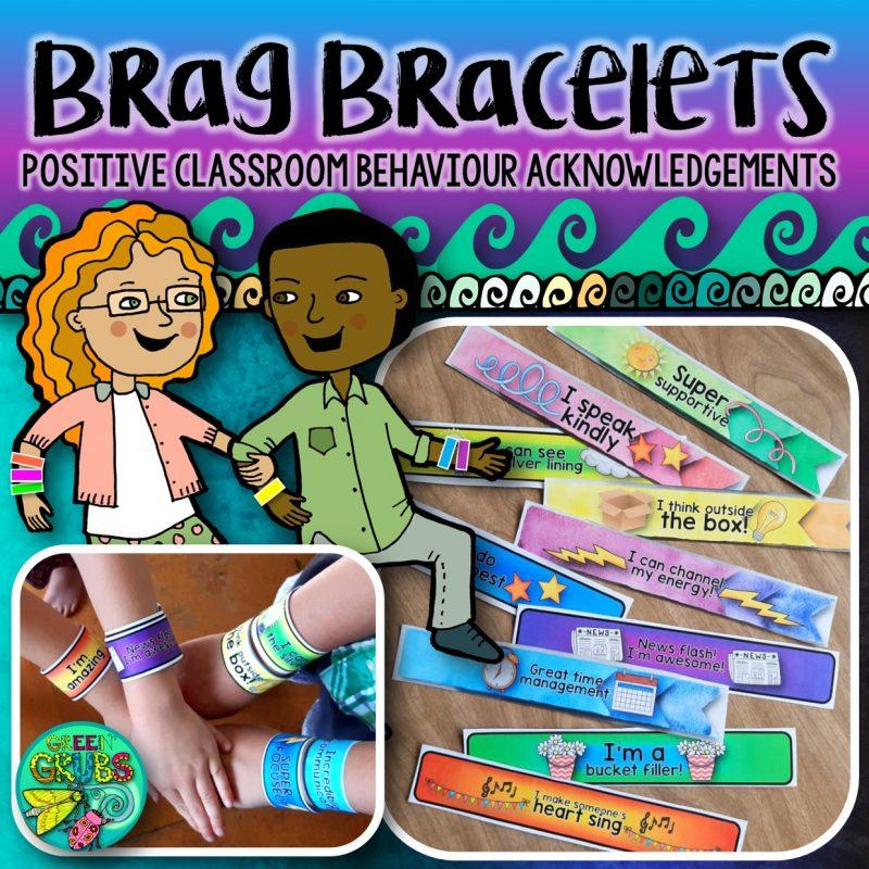 Brag Bracelets {FREE Resource}